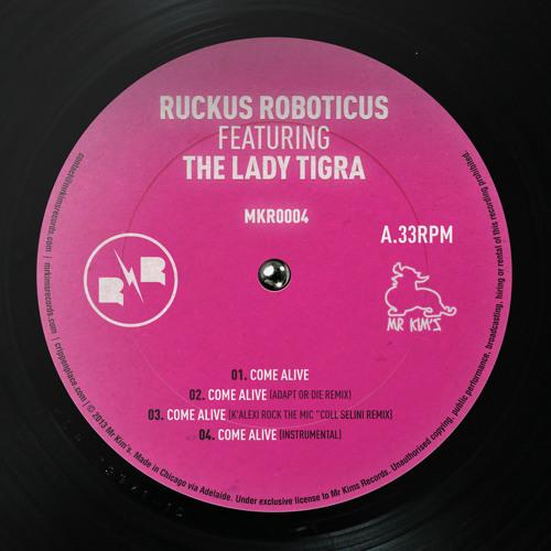 Come Alive Feat. The Lady Tigra (Mr Kim's Records 004)