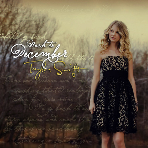 Back To December Cover By Me (@ekvbri)