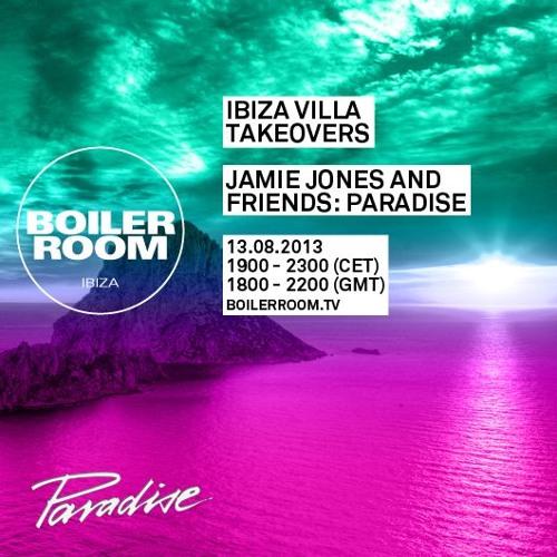 Jamie Jones Boiler Room Ibiza Villa Takeovers Dj Set By