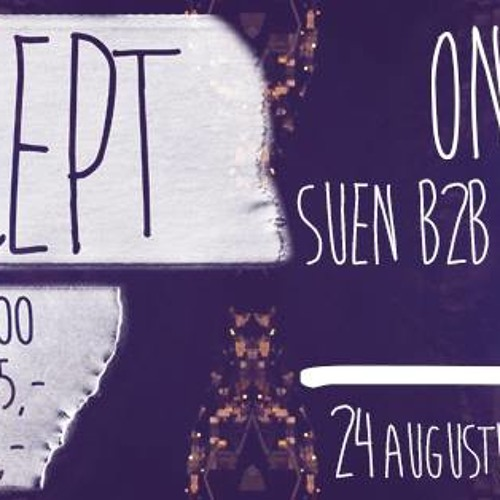 Promo Koncept 24 augustus Stalker Haarlem/ RikBoss
