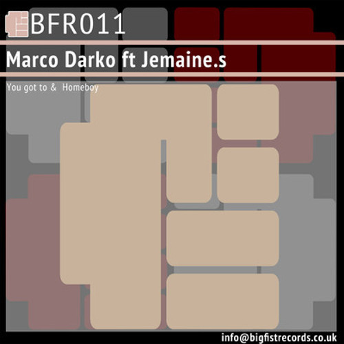 Marco Darko feat. Jamaine. S - You Got To (Out Now!!)