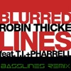 Robin Thicke - Blurred Lines Feat. T.I. & Pharrell (Bass - Lines Mix)