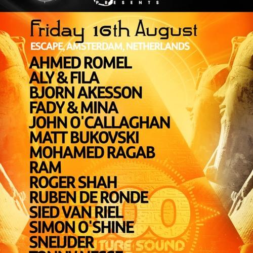 Ahmed Romel @ FSOE300 Amsterdam , August 16th 2013