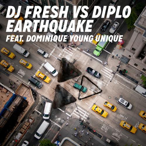 DJ Fresh Vs Diplo Feat. Dominique Young Unique - Earthquake - DJ Riot's Zouk Bass Remix