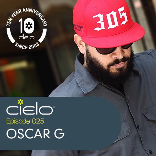 Oscar G ~ Cielo NYC Podcast ~ August 2013
