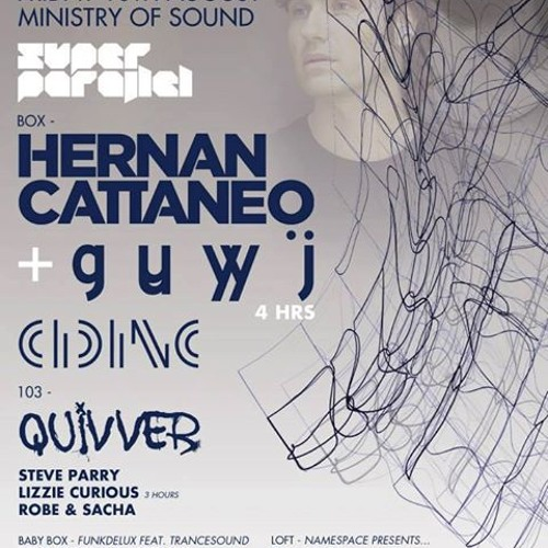 Cid Inc @ Ministry Of Sound London 16.08.13