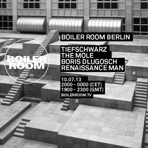 Renaissance Man 60 Min Boiler Room Berlin DJ Set