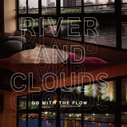 river and clouds