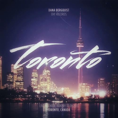 Dana Bergquist live@School Bakery, Toronto 08.10.2013