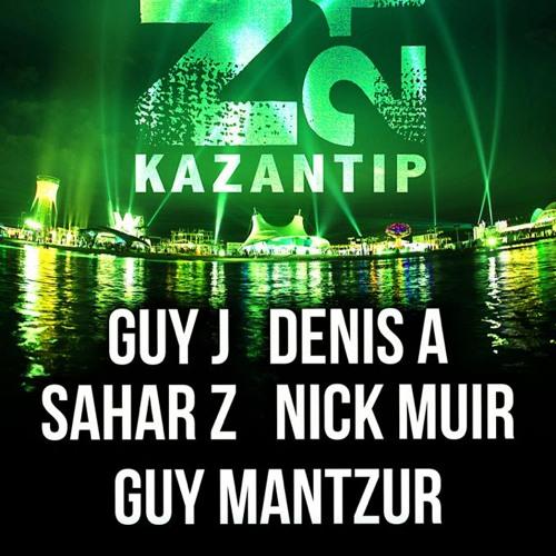 Guy Mantzur Live at Kazantip festival 02-08-13 (Lost & Found )