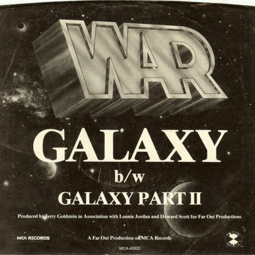 War - Galaxy  (Disco Tech DJ edit)