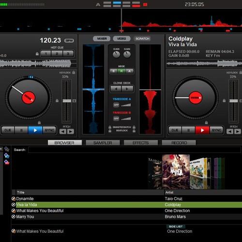 Viva la vida Remix by Me (virtual Dj home 7 apps) by Ryan