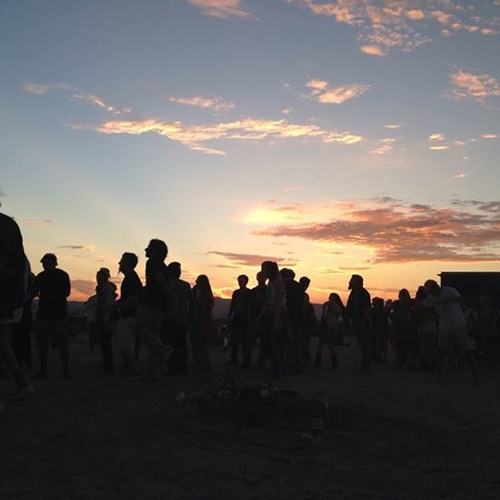 Ben Annand live at Moontribe in the Mojave Desert, Monday, August 19, 2013