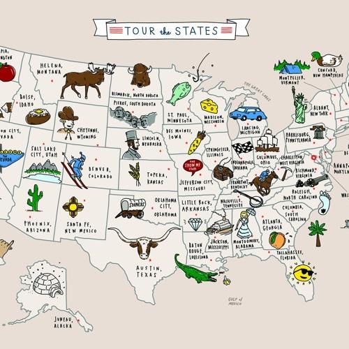 Tour The States By 国國国sonido 国國国sonido Free