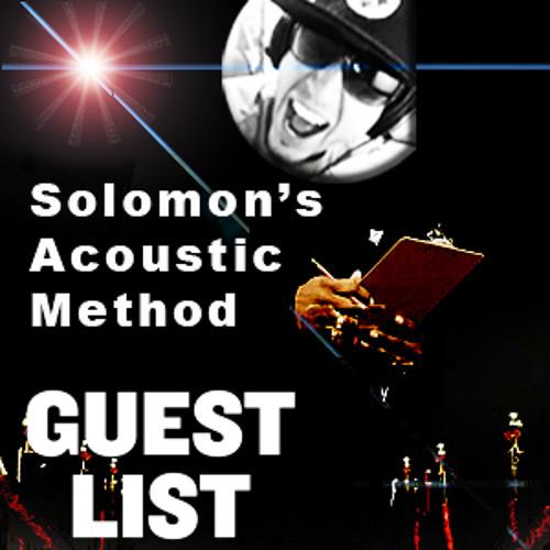 Solomon's Acoustic Method Guest List (original Mix)