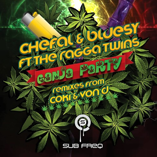 Chef & Bluesy Ft The Ragga Twins-Ganja Party (Von D Remix)