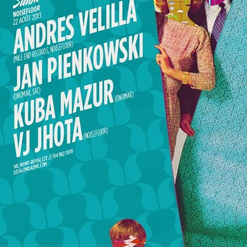 Jan Pienkowski live at Le Salon Daomé 08-22-2013