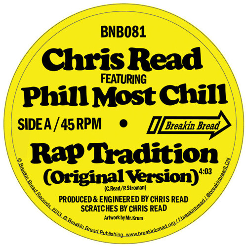 Rap Tradition (Original Version) feat. Phill Most Chill (Snippet)