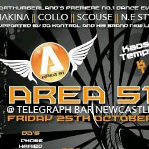 Dj Energy Me First Ever New Style Makina Mix (Monta Musica All Me Fav Tracks) at Area51 hq