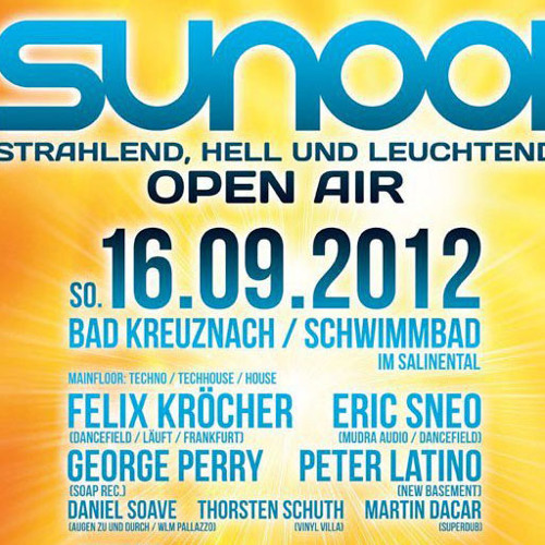 Sun001 Open Air 2012 Live Mix by MIKE DJX