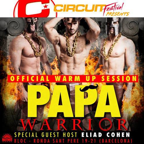Ivan Gomez - Circuit Festival 2013 - Papa Warrior