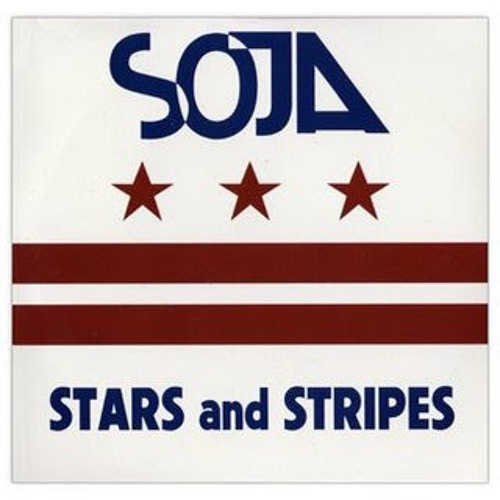 SOJA- Revolution version stars and stripes