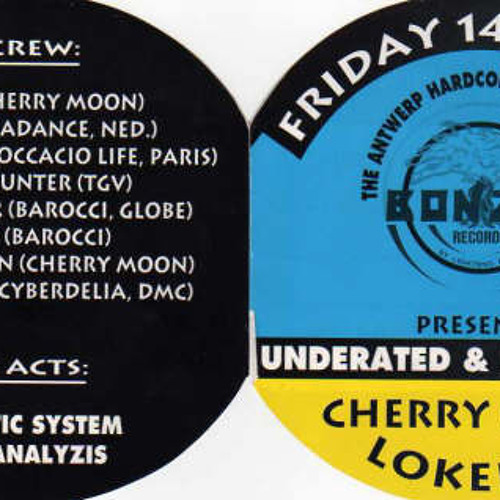 Cherry Moon 1993-05-14 - UNDERATED & DANGEROUS By bonzai records Yves Deruyter & Mike Thompson