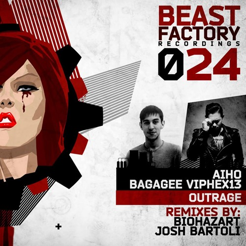 Aiho, Bagagee Viphex13 - Outrage (Josh Bartoli Remix) [Beast Factory]