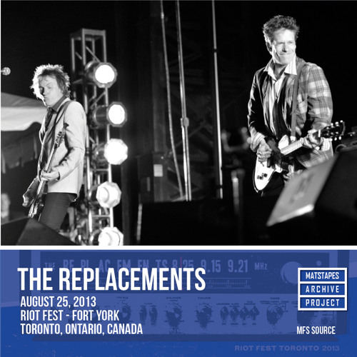The Replacements — Riot Fest Toronto, 8/25/13