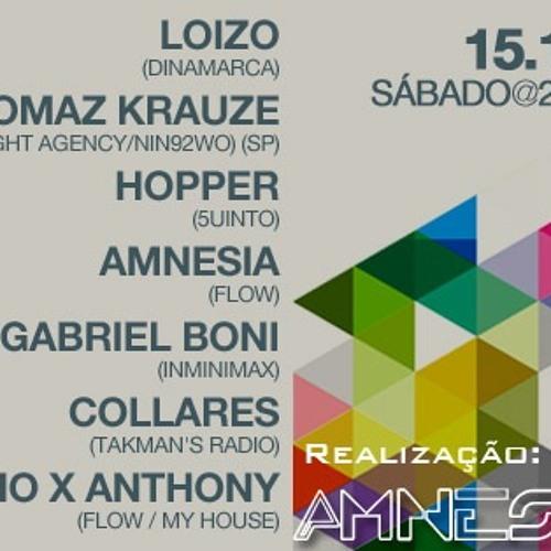 Dj LoiZo Live Set-Mix @ FLOW#2 party - BRASILIA