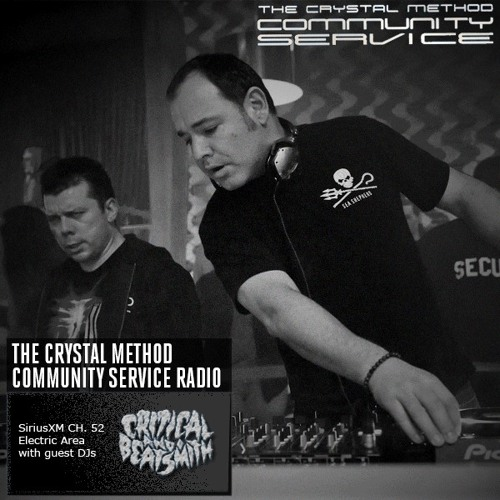 """Critical & Beatsmith Guest Mix on The Crystal Method's """"Community Service"""" 8/26/2013"""