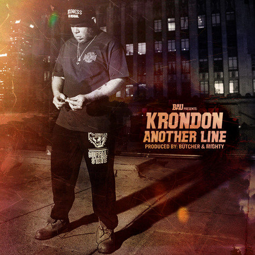 """Krondon """"Another Line"""" (Produced By Frank The Butcher & Paul Mighty)"""