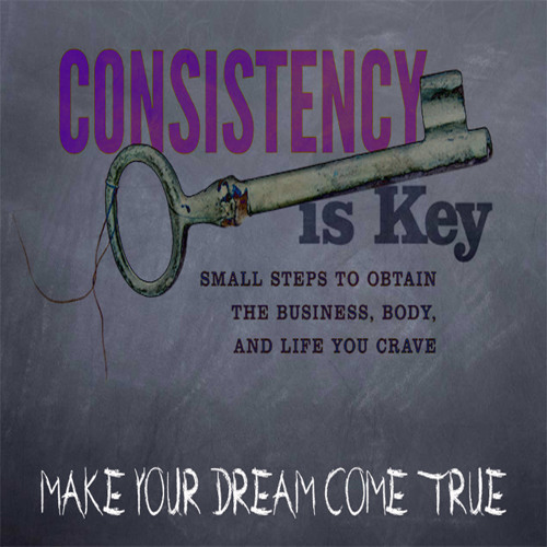 Inspirational Message: Day 3 - Consistency is KEY!!! Be As Consistent As Possible
