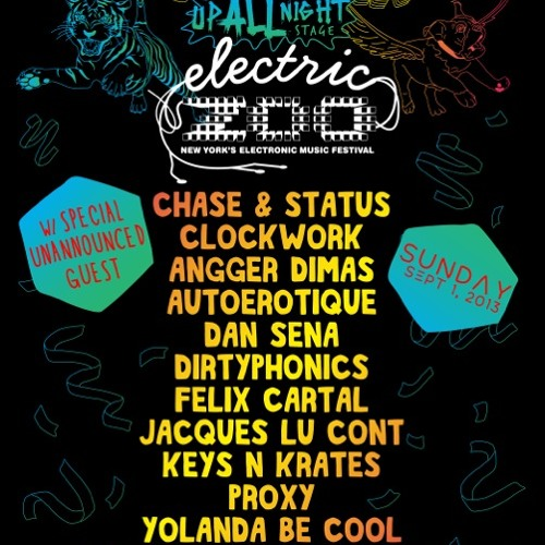 Electric Zoo 2013 Mix ft. Dim Mak Artists