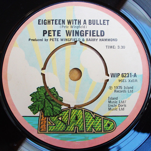 Pete Wingfeild - Eighteen WIth A Bullet - (RileyJ Big Beat)