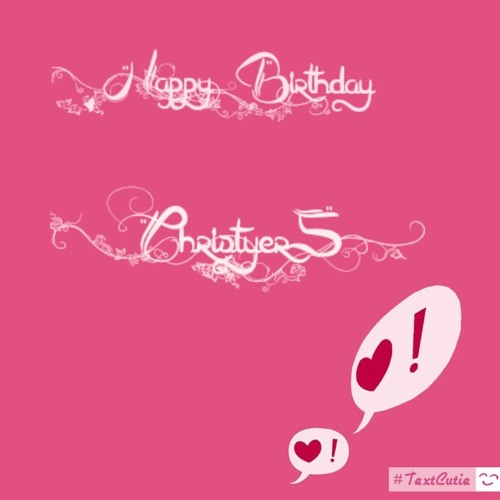 Happy 2nd Anniv My Christyers