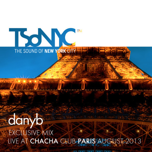 danyb @ Chacha Club Paris August 2013