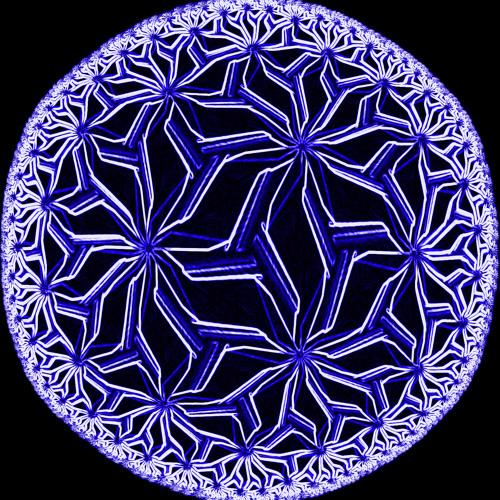 The Blue Painted Desert By Aaron Bergman