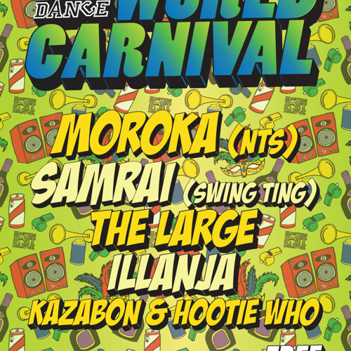 Live @ HDD World Carnival, Old Blue Last 24.08.13