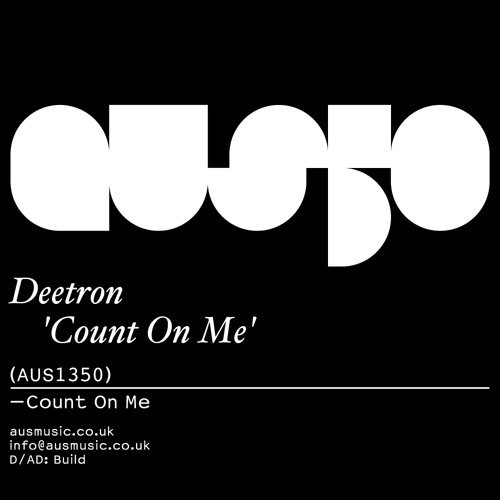 Deetron - Count on me - Aus Music 50