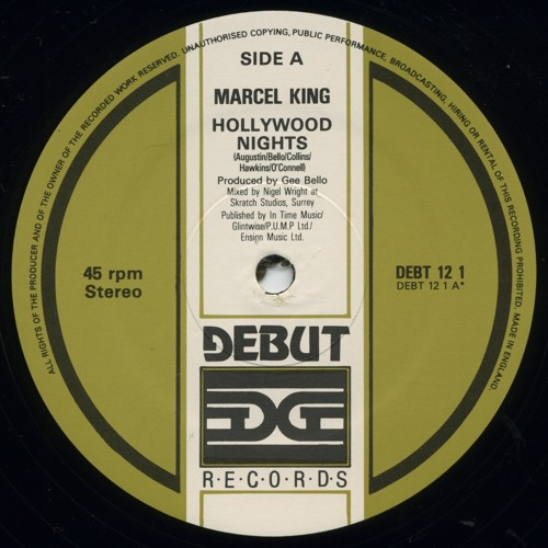 """Hollywood Nights"" - Marcel King"