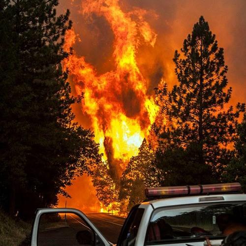 Rim Fire Commanders Deploy Drone