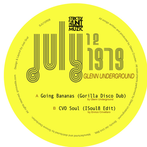 GOING BANANAS (GORILLA DISCO DUB)12""