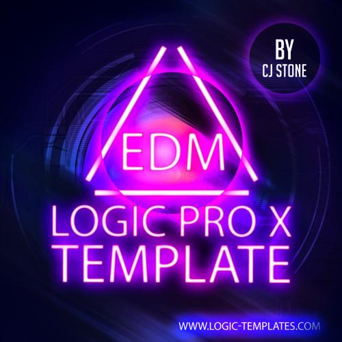 EDM Template Logic Pro X Template