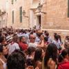Comitiva de caixers y banda musical. Fiestas Sant Joan/Ciutadella. Menorca. Paisajes Sonoros 131