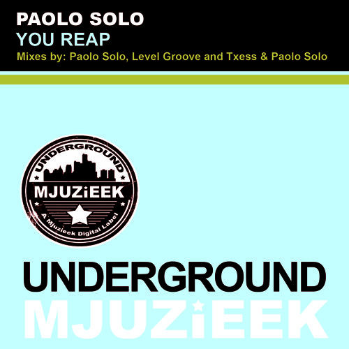 OUT NOW! Paolo Solo - You Reap (Level Groove Remix)