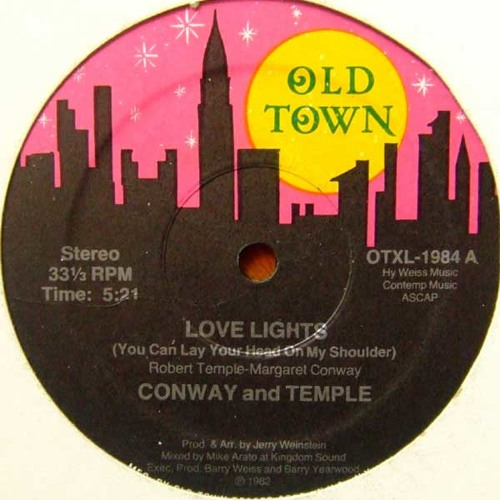 Conway and Temple - Love lights (1982)