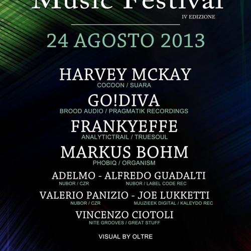 GO!DIVA @ Acuto Electronic Music Festival, 24-08-2013, Italy