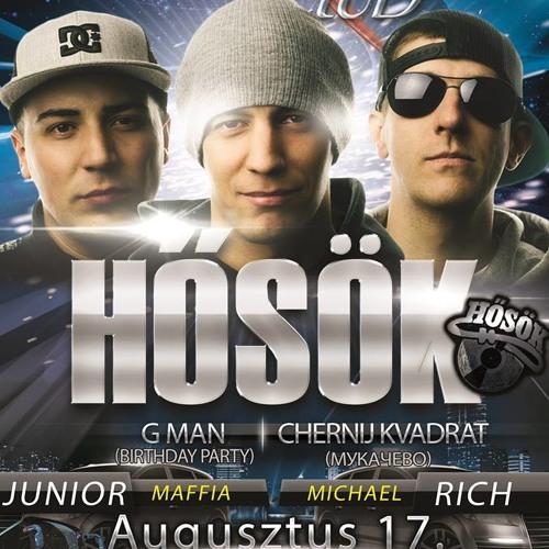 Hősök & G Man &  Chernij Kvadrat ( Flame ClubRadio Spot 2013.08.17.)
