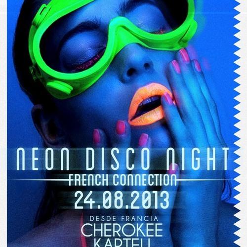 Cherokee @ Neon Disco Night - Attic Bar Loft By Breakfast Club - Medellin 24.08.2013